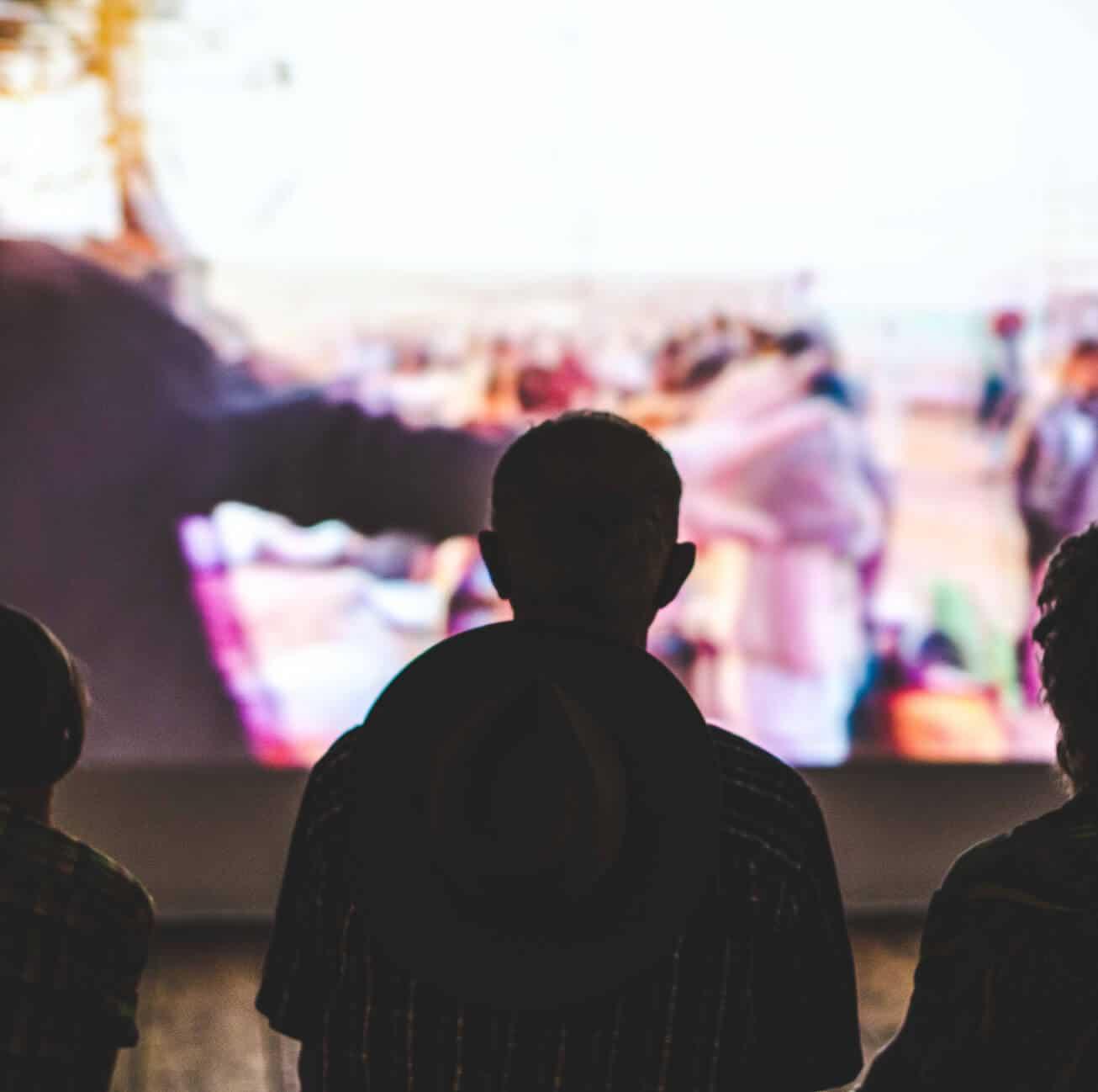 Projections de films